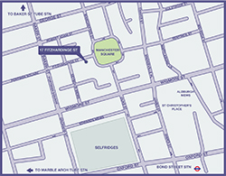 Fortius Clinic Central London Map
