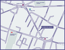 Fortius Clinic in City of London Map
